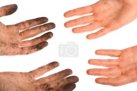 Clean dirty hands