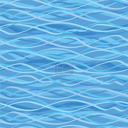 Illustration for Seamless texture marine motif with anchor - Royalty Free Image