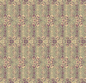 Retro seamless pattern for page decoration Abstract floral background Vintage Vector Design Ornament