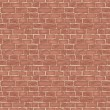 Brick wall texture. seamless vector background....