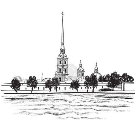 St.-Petersburg landmark Peter and Paul Cathedral
