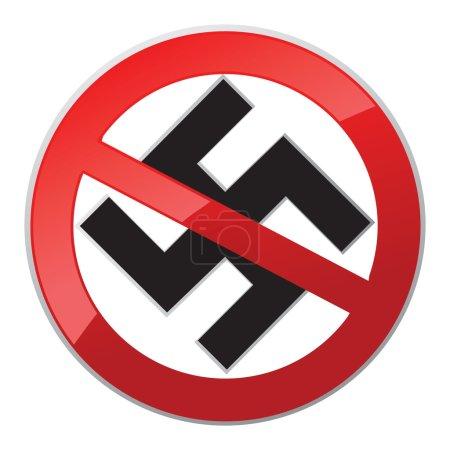 No Nazi icon