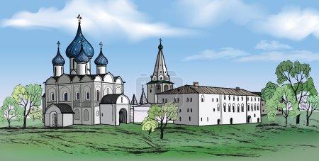 Russian city Suzdal
