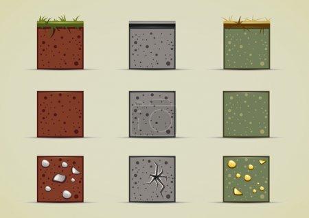 Ground sprites collection...