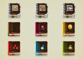 Set of nine books for fantasy RPG games