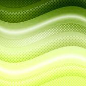 Zöld hullámok háttér