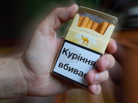Camel cigarettes avec filtre