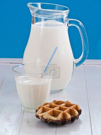 A jug milk