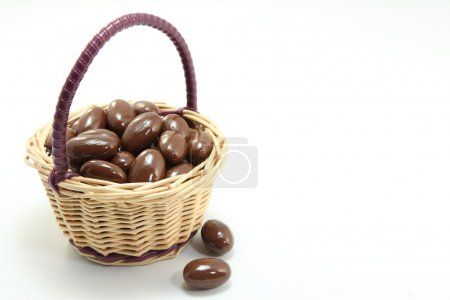 Chocolate with a basket