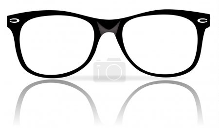 black glasses frames