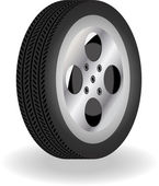 Detailed 3D Vector Tire