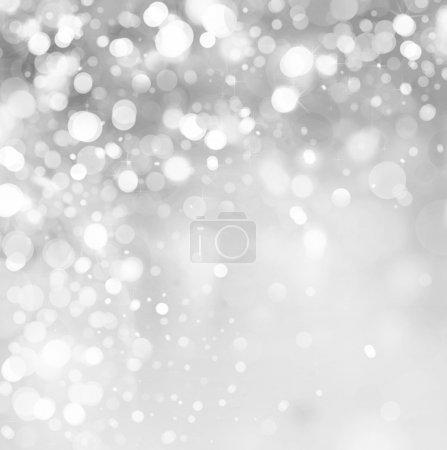 Foto de Luces de fondo gris. - Imagen libre de derechos