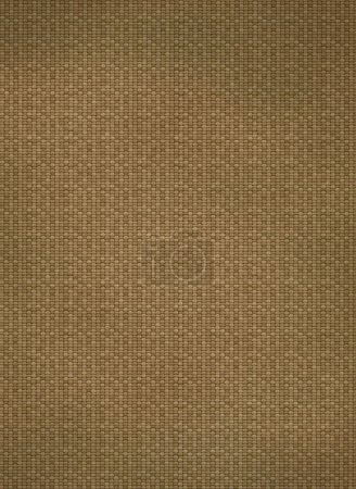 Photo for Brown canvas texture. - Royalty Free Image
