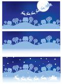 Vector Christmas banners.