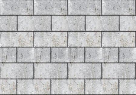 Vector seamless brick wall
