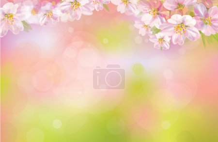 Illustration pour Vecteur de fond de printemps. - image libre de droit