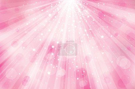 Vector glitter pink background