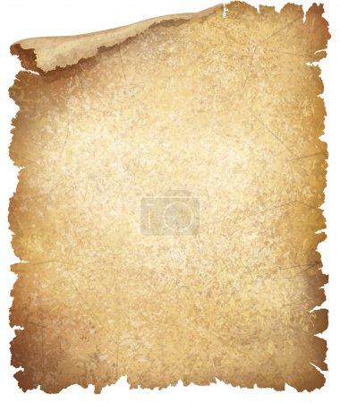 Illustration for Vector old paper texture. - Royalty Free Image