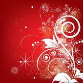 Vánoční zimní rozmazané světla pro nový rok