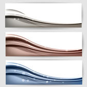 abstract background with waves and lines