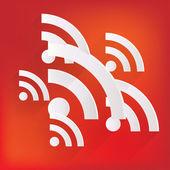 Rss icon news symbol