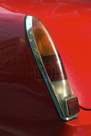 Photo pour Détail rapproché de la voiture classique vintage - image libre de droit