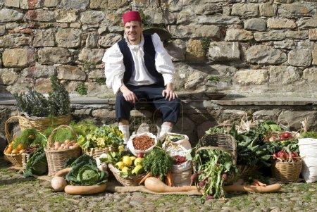 Foto de Mercado medieval. recreación histórica - Imagen libre de derechos