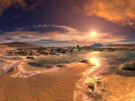 Sunset or Sunrise Beach