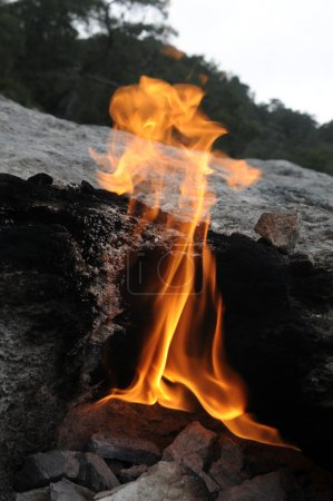 The fires of Yanartas