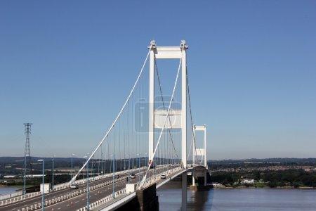 The Severn Bridge is a motorway suspension bridge ...