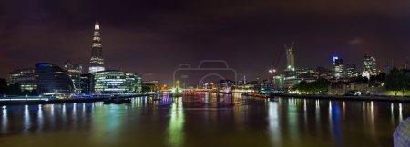 Лондонский горизонт ночью