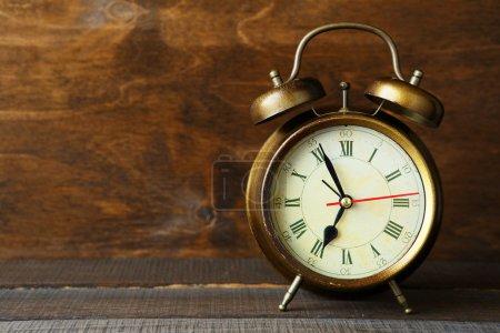 Photo for Old  retro alarm clock - Royalty Free Image