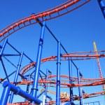Astroland Amusement Park in Coney Island, New York...