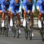 A chrono bike race...