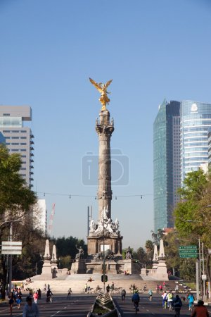 Indipendence Monument, Mexico City