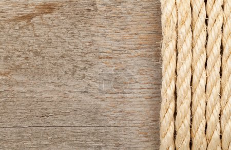 Rope and plank