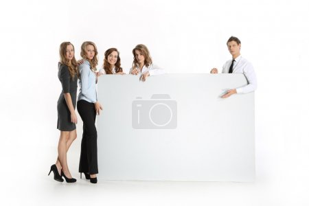 Employees corporations with white is not printed array
