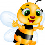 Funny bee cartoon...