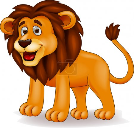 Photo for Lion cartoon - Royalty Free Image