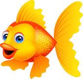 Golden fish cartoon