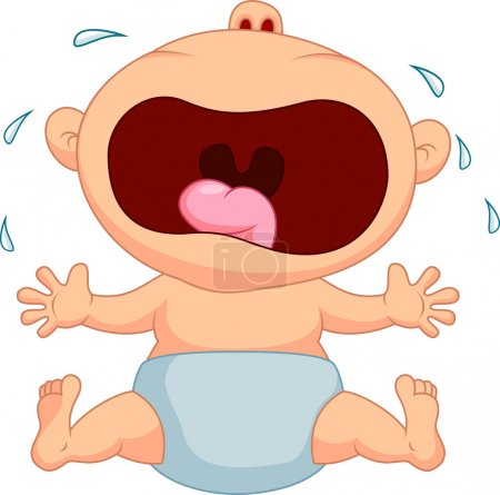 Photo for Baby crying - Royalty Free Image