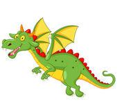 Cute dragon cartoon