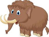 Mammoth Cartoon Character