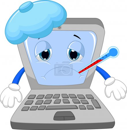 Sick laptop