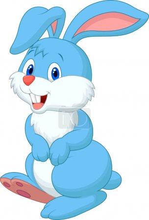 Photo for Cute rabbit cartoon - Royalty Free Image