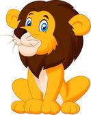 Lion sitting