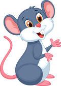 Glücklich Maus