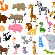 Wild animal cartoon collection...
