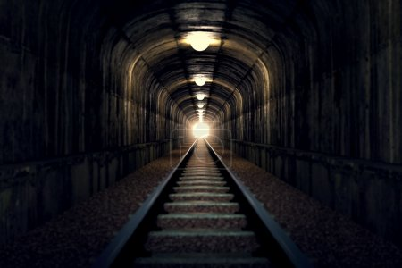 Light at the end of tunnel.
