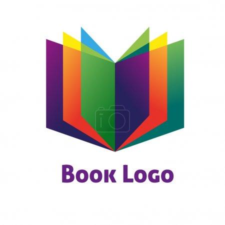 Illustration for Book sign. Logo book. Book symbol. - Royalty Free Image